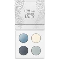 Mineral Eyeshadow Quattro 01 Smoky Grey