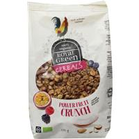 Cereals power fruit crunch