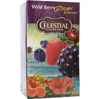 Wild berry zinger herb tea