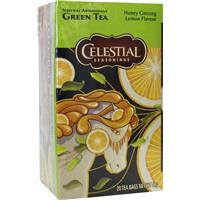 Honey lemon ginseng green tea