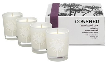 Knackered Cow Relaxing Travel Candles
