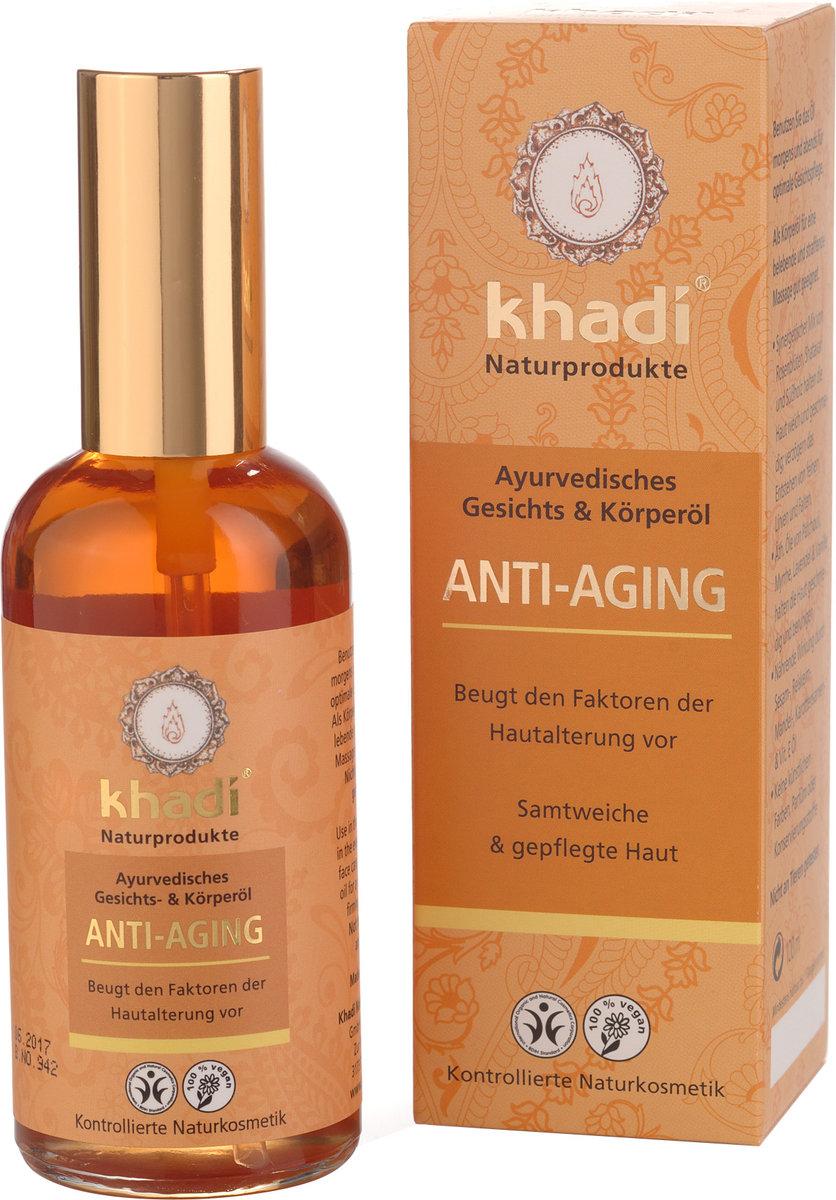 Herbal Oil for Mature Skin - Anti Aging