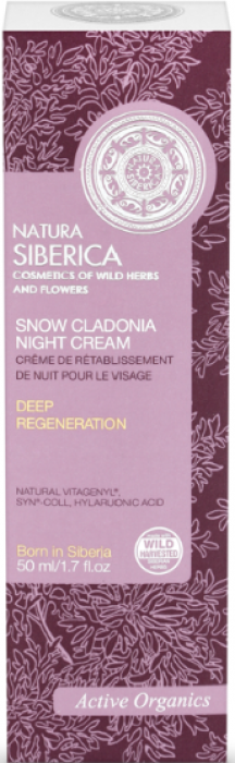 Snow Cladonia Night Cream