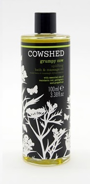Grumpy Cow Uplifting Bath and Massage Oil