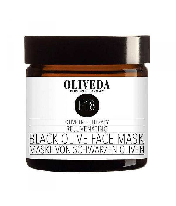F18 Rejuvenating Black Olive Face Mask