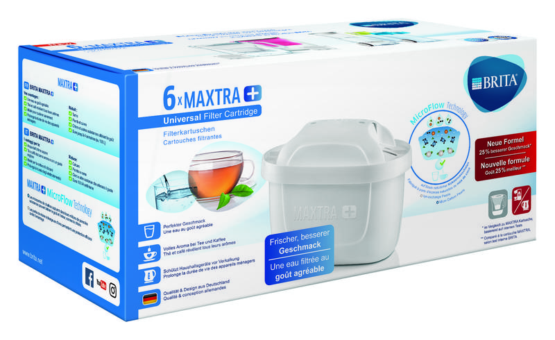 Filterpatroon maxtra  6-pack